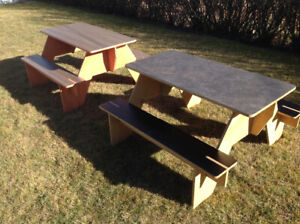 Portable Mini Picnic Tables - Great for Camping!