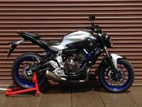 Yamaha MT-07 MT07 2015. Only 3187miles. Nationwide Delivery Available.