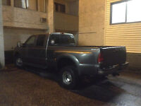 F350 dually and driver for hire