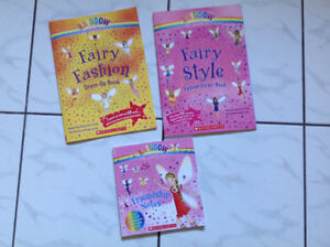 Set of 3 New Unused Rainbow Magic Activity Books