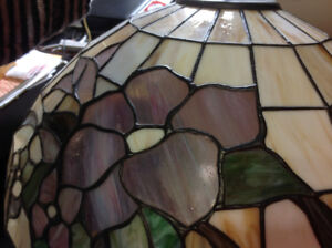 Gorgeous stained glass hanging lamp