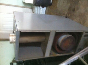electric oil furnace and oil  tank
