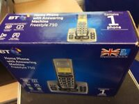 New BT Dect Telephone & Answerphone