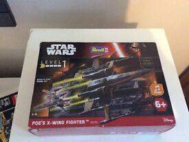 Revell Star Wars Poe's x wing fighter model kit