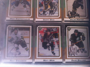 Signed London Knights 2002 Team Card Set