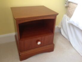 Chest or drawers and two bedside tables