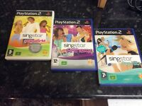 Singstar PlayStation games and microphones