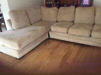 Large corner seating unit