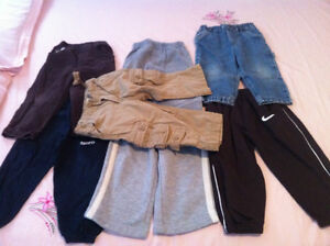 6 sweatpants, 3 Pants and 1 Jeans ! All branded! Smoke& Pet free