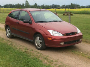2001 Ford Focus ZX3 Coupe (2 door)