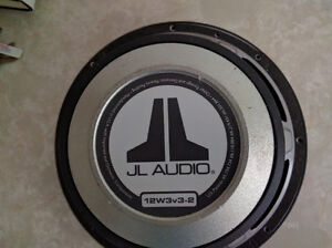 JL 12W3V3-2 Subwoofer with grill