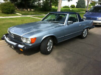 Great classic 380SL Benz in fantastic condition. Will trade 4 HD