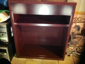 BERGUNDY, VERY STURDY METAL SHELVING  UNIT FOR SALE