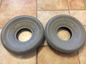 NEW SCOOTER  TIRE SPECIAL NEEDS CHENG SHIN 4.10/3.50-4 4P.R