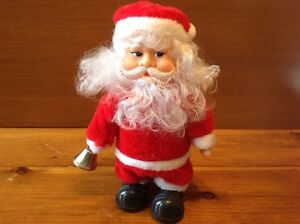 Vintage Santa Claus animated Christmas decoration