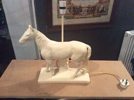 1960's horse lamp