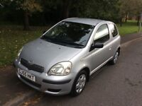 2005 Toyota Yaris 1.4 T3 D4D-2 lady owners-12 months not-full service history-exceptional car