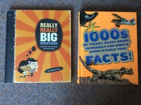 Two children's fact books