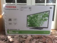 NEW Toshiba LED backlit flat screen TV