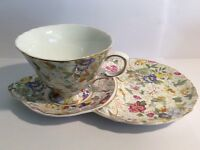 The Leonardo Collection tea cup and saucer.