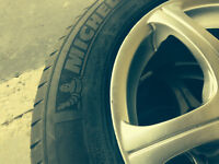 RIMS with TIRES !!** IN MINT CONDITION !!** FIRE SALE PRICE !!