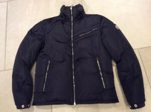 Moncler Men's Brad navy jacket sz 2 (medium)