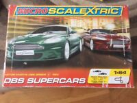 Microscalextric set dbs supercars complete