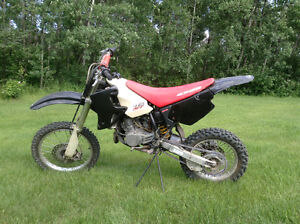 Honda cr80r dirt bike