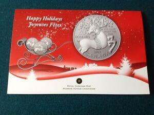 2x pièces de 20$ en argent Canada 2013 «Renne au nez rouge»