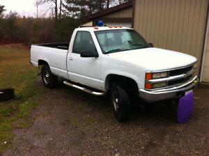 REDUCED!!!! 1997 chevy ck3500