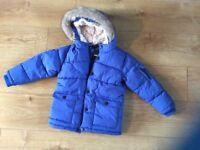 New child's winter coat- next age 4