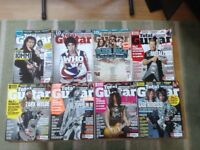 Total Guitar magazines & CD's from 2011