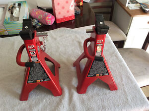 3 ton big red jack stands NEW