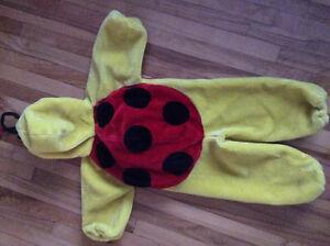 coccinelle, ladybug 2-3ans COSTUME Halloween