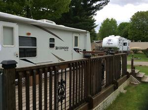 2008 Rockwood travel camper