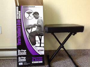 X-style Keyboard Bench (On-Stage Stands)