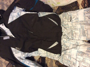 Men's 3 in 1 coat and matching snow pants