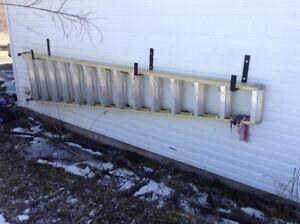 34 foot fiber glass stepladder