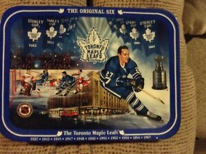 Original Six Toronto Maple Leafs Collector Plate