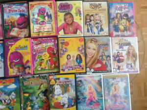 Assorted DVD'S for kids ex co each $2