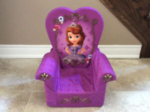 Cozy chair for toddler