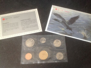1992 CANADA 125 UNCIRCULATED PROOF-LIKE COIN SET