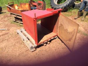 Various farm equipment