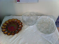 Crystal ware and accent pieces
