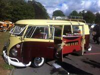 VW Splitscreen T2 Campervan 1967