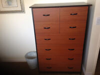 TALL DRESSER AND NIGHTSTAND