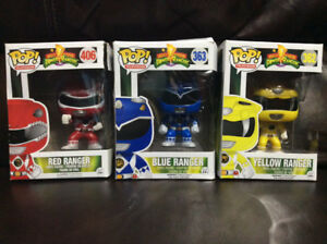 MIGHTY MORPHIN POWER RANGERS POP TELEVISION FIGURES BY FUNKO