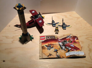LEGO 7307 Flying Mummy Attack 100% Complete