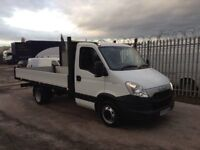 2012 iveco daily 35c13 lwb 14 ft alloy dropside pickup excellent condition no vat