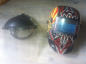 Welding helmet auto dark / grinding shield